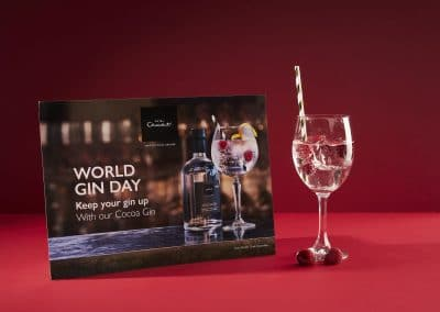Hotel Chocolat / Point of sale – National Gin Day 2019